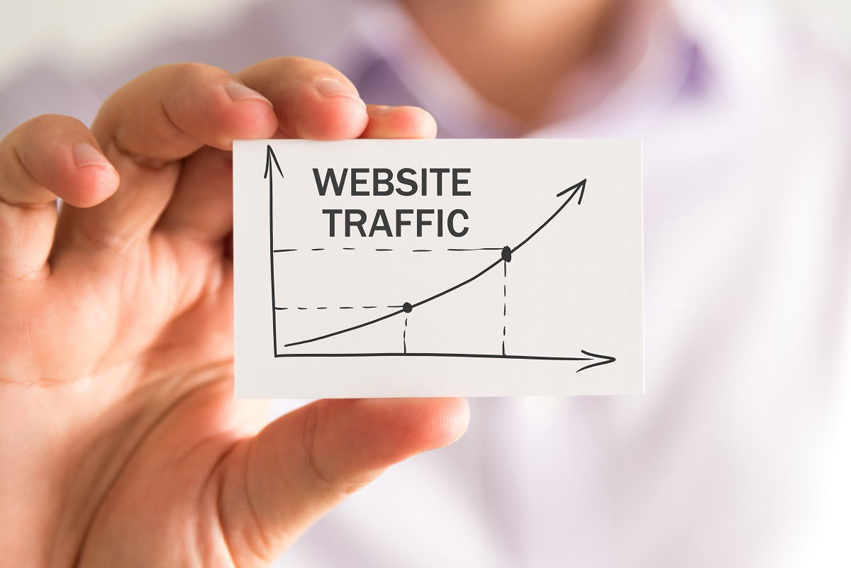 increase in website traffic