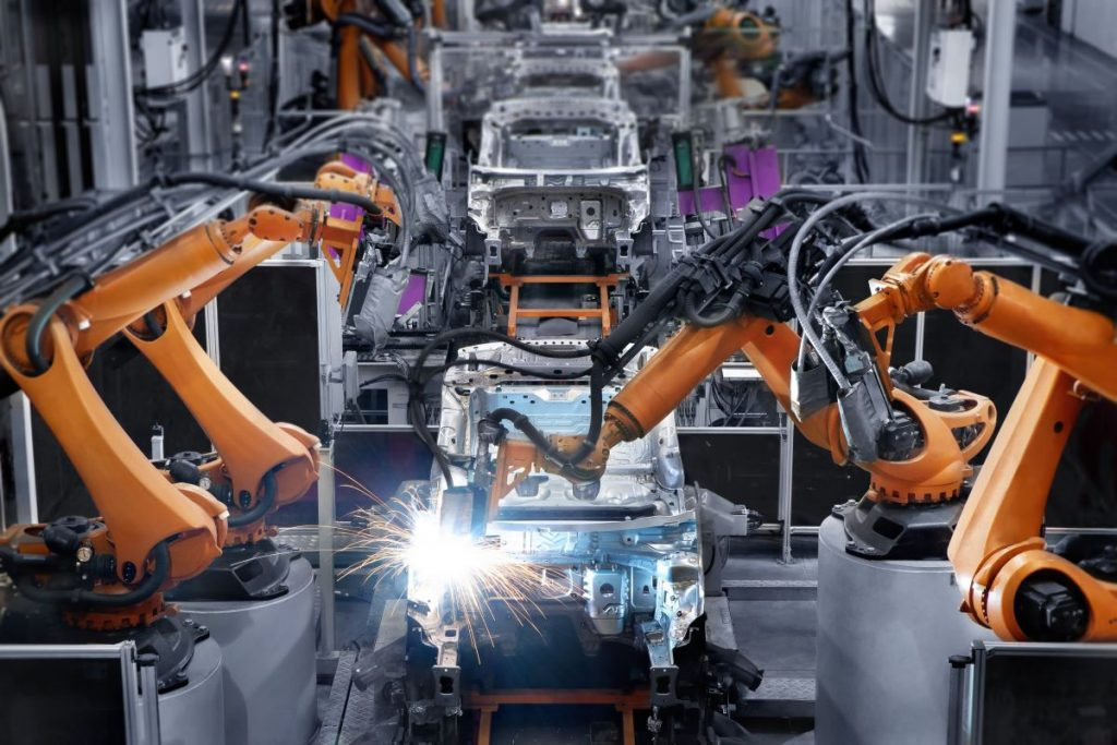 car manufacturing factory