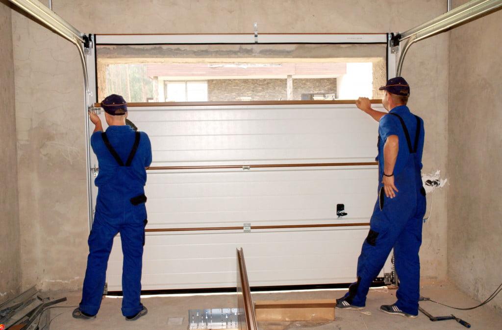 installing a smart garage door